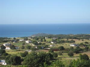 View of Pedro Bluff St. Elizabeth