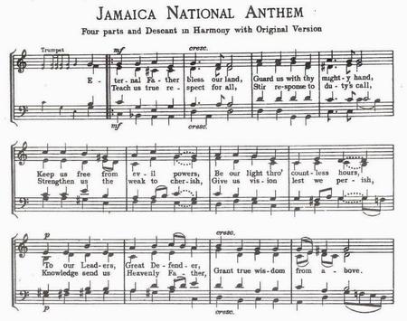 Jamaican National Anthem Part 1