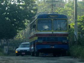 Country bus Jamaica