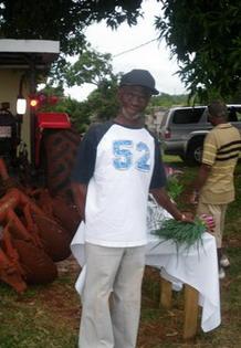 Mr. McLean, Organic Farmer, St. Elizabeth Jamaica