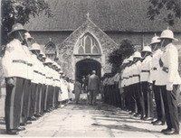 Remembrance Day 1950's, Black River Parish Church, Jamaica